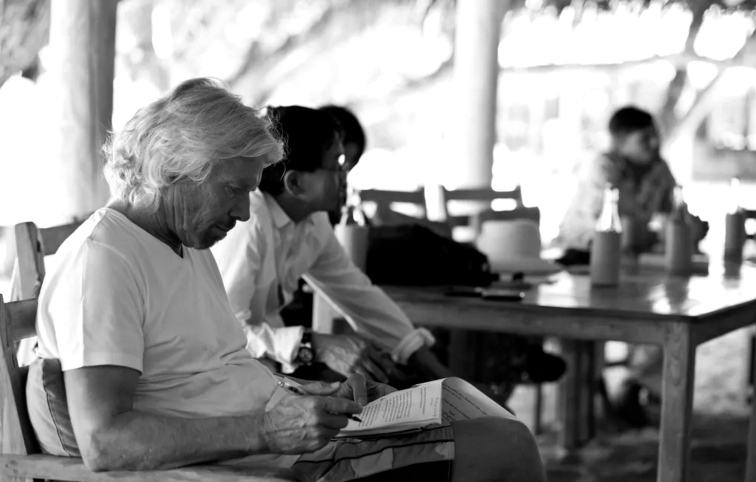 Richard Branson reading