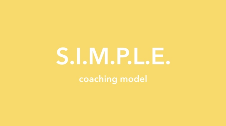 SIMPLE coaching model (16 x 9 HD photo)